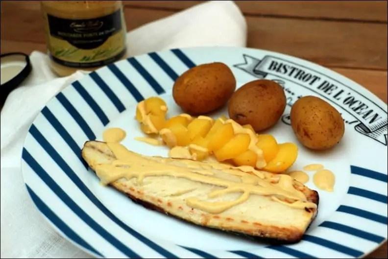 filets de maquereaux à la moutarde de Laurent Mariotte