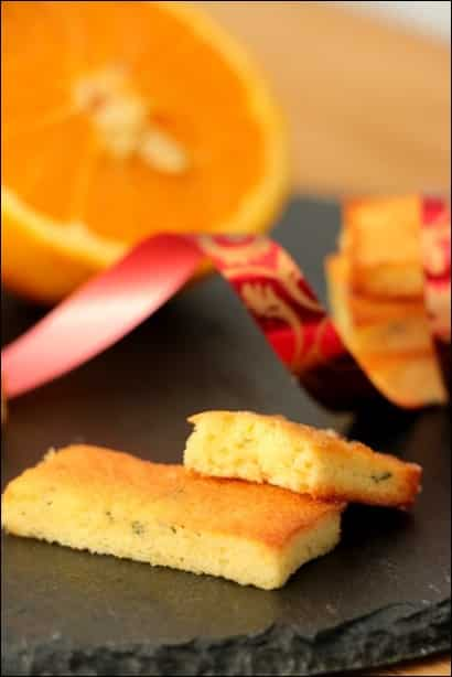 financiers à l'orange