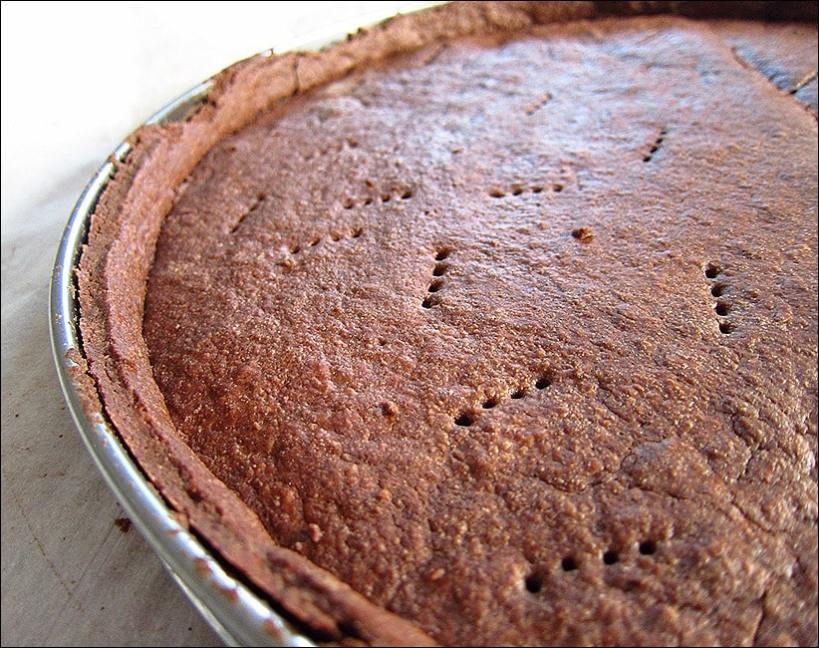 pâte sablée au chocolat