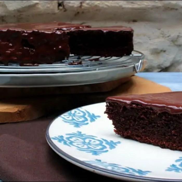 Moelleux chocolat et orange sans gluten sans lactose