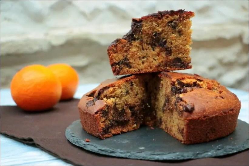 gâteau au yaourt chocolat orange