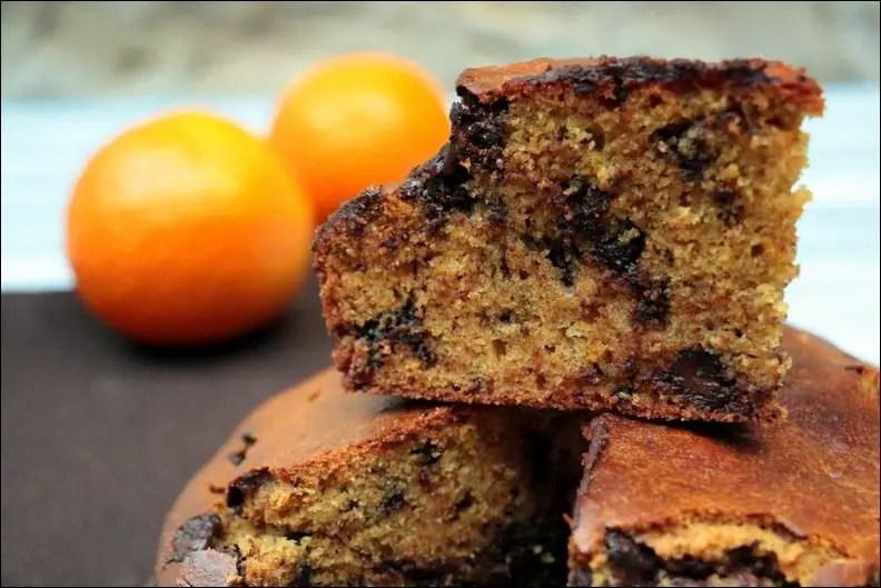 Gâteau au yaourt chocolat orange – sans lactose