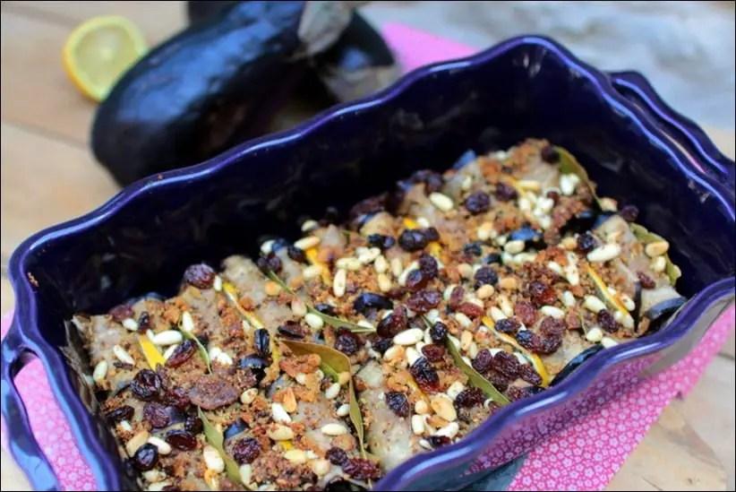 aubergines en becfigues