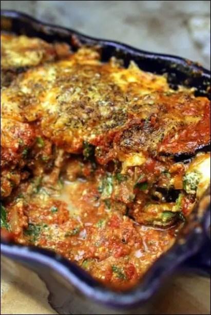 gratin aubergine italien