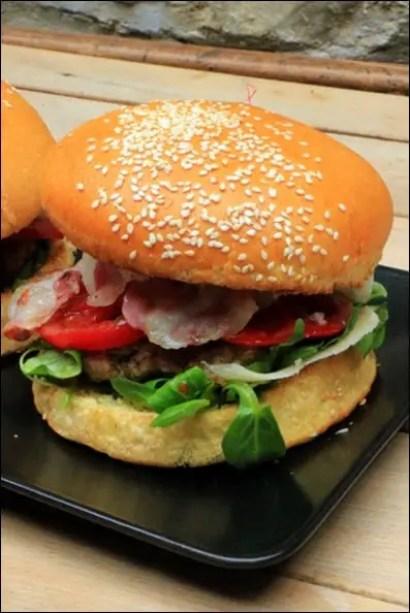 burger de veau a l'italienne