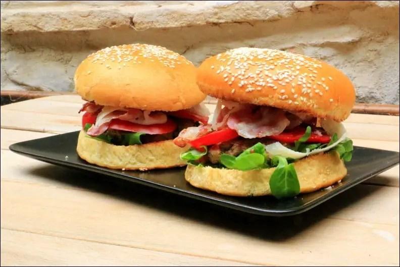 burger de veau maison
