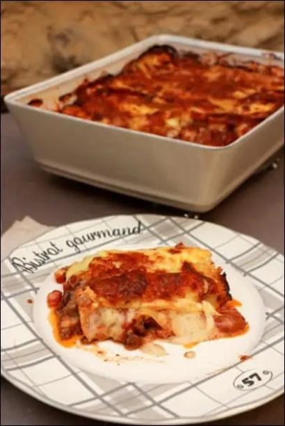 lasagnes bolognaises bechamel