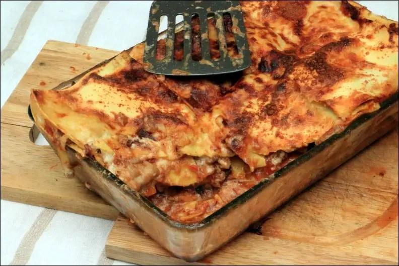 lasagne veau recette