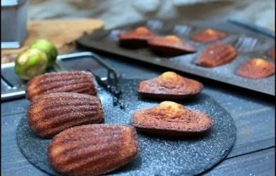 madeleines vanille et amande amère de Philippe Conticini