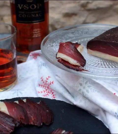 magret de canard séché au Cognac