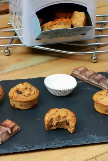 muffins poire sans beurre