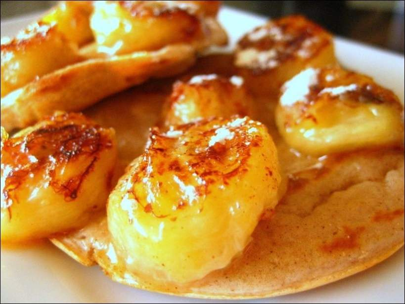 pancakes banane et cannelle