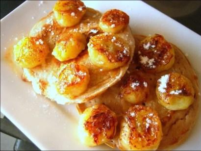 pancakes banane cannelle