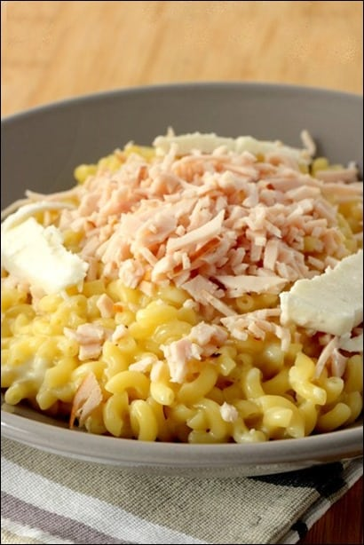 risotto jambon coquillettes