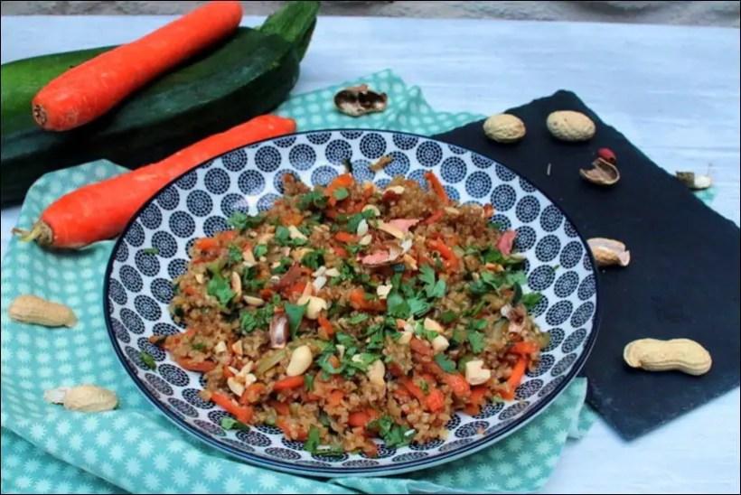 pilpil blé carotte et courgette