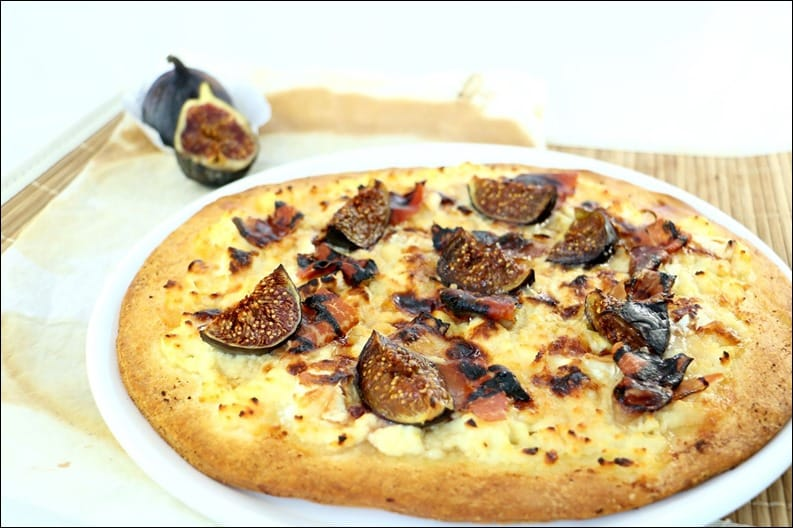 pizza figues chevre miel