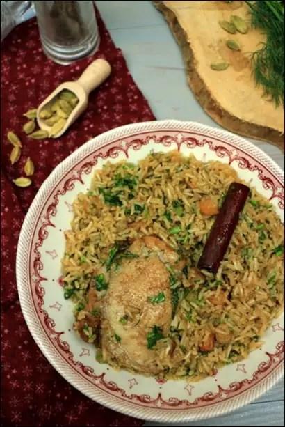 riz cardamome indien
