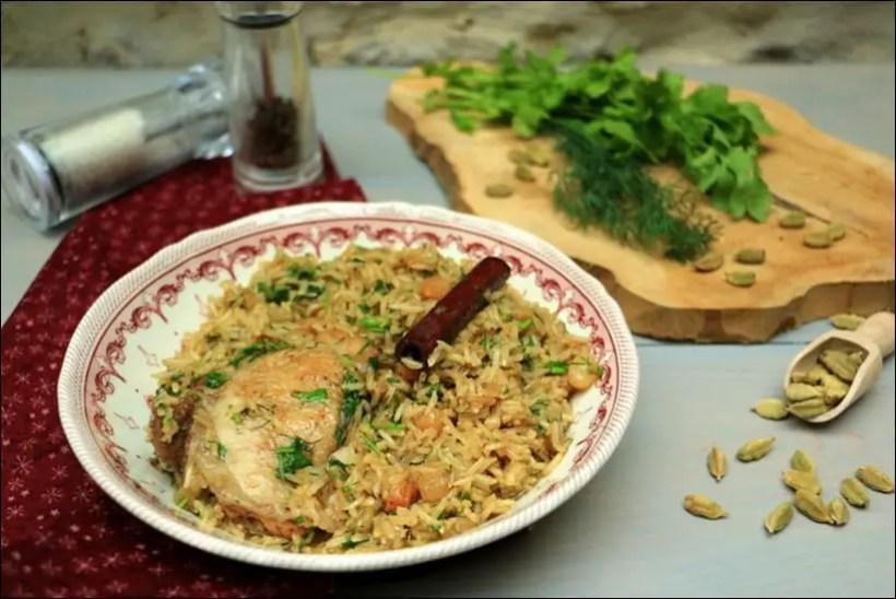 poulet oignon riz cardamome ottolenghi