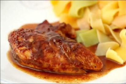 poulet sirop d'érable