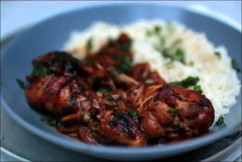 poulet yassa recette