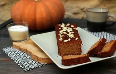 pumpkin cake à la noix de coco