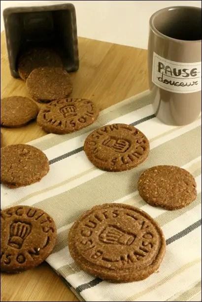 biscuits sablés chocolat amande