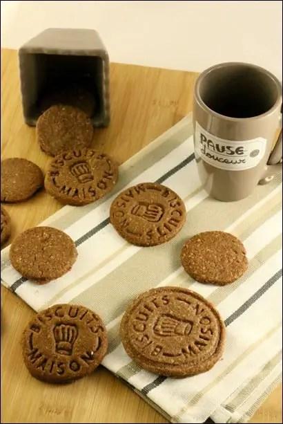 biscuits sablés chocolat poudre amande