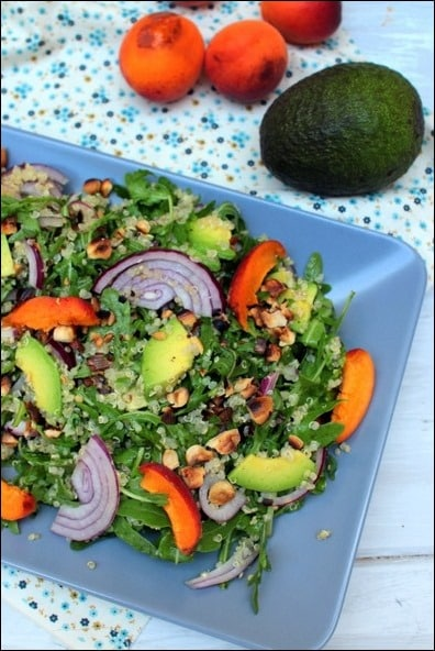 salade quinoa roquette