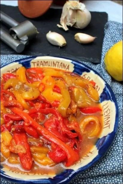 salade de poivrons pied noir
