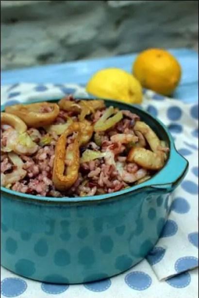 salade de riz froide