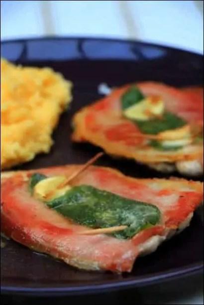 saltimbocca porc sauge