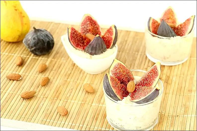 semoule au lait poire et figues