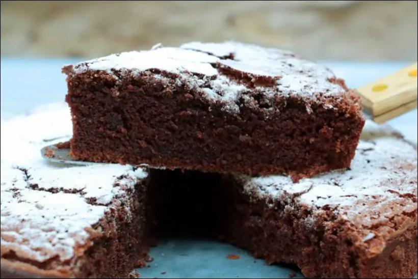moelleux chocolat à la crème fraîche