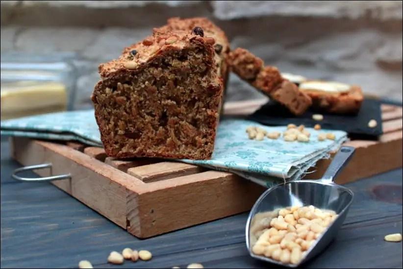 soda bread à l'épeautre et raisins secs
