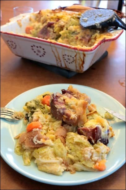 gratin soupe chou