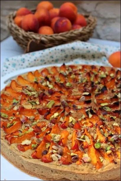 tarte amandine abricot frais