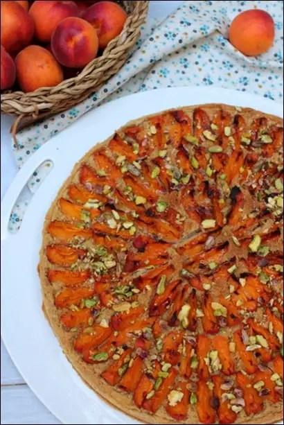 tarte amandine abricot pistache