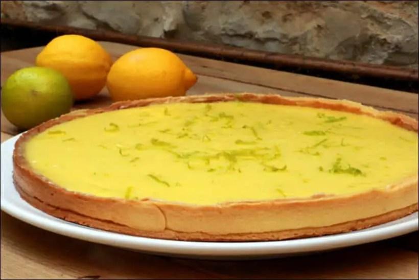 tarte citron vert