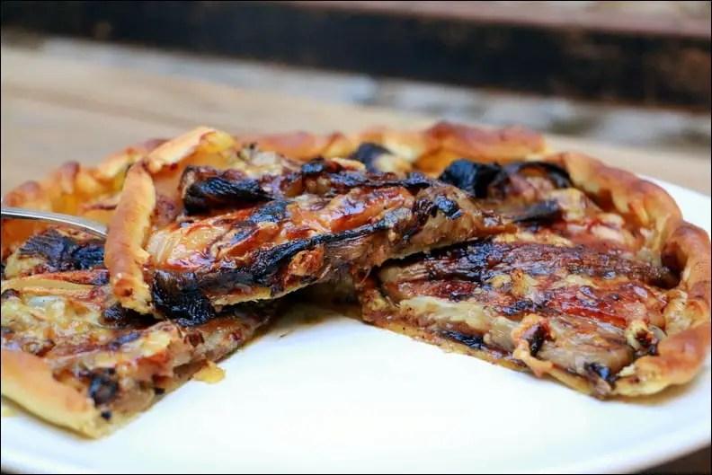 tarte aux endives poires et gorgonzola