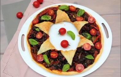 tarte étoile aux légumes d'été