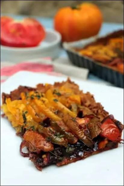 tarte tomate oignons