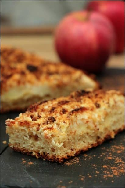 tarte crumble aux pommes