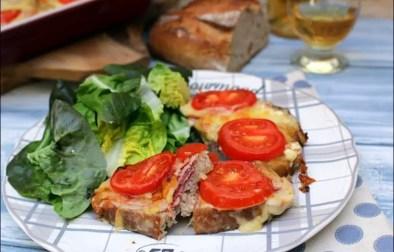 tartines savoyardes gratinées au jambon fromage et vin blanc