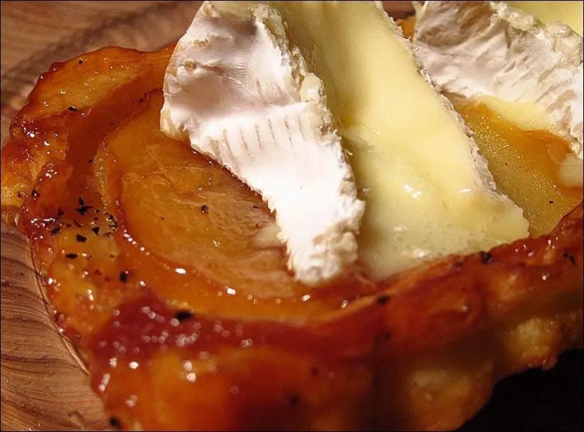 tatin pomme camembert