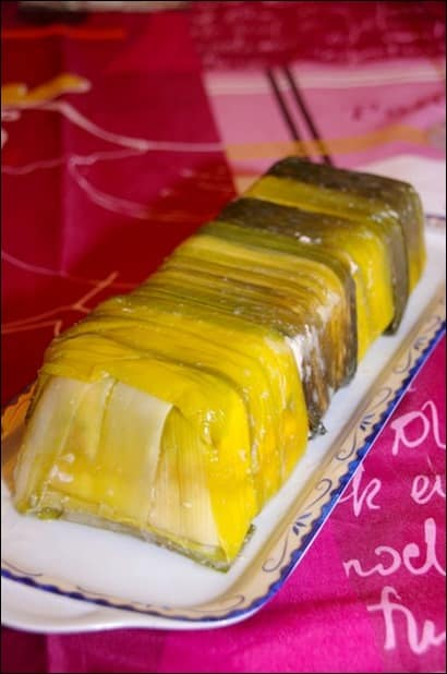 terrine de saumon mangue