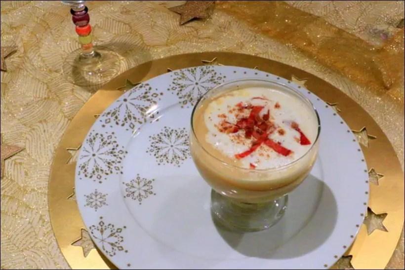 recette velouté panais foie gras jambon