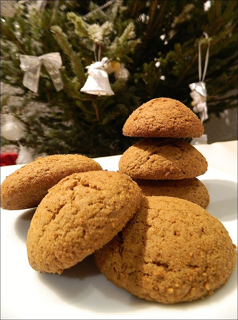 cookies cannelle gingembre