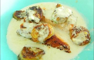pavés de saumon aux épices coco et banane