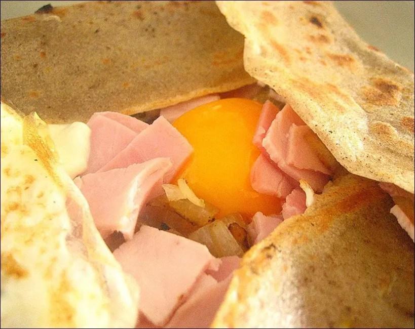 crepe sarrasin jambon oeuf