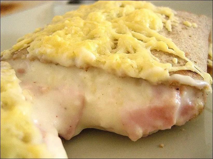 galettes de sarrasin au jambon et au fromage